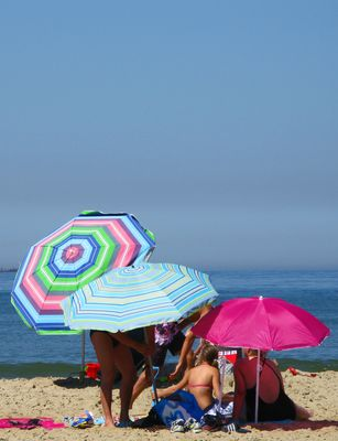 Texel: Strandszene