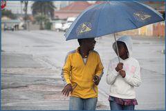 TEXT+FOTO: Lachen im Regen ... bei Kapstadt  +Reportagestory