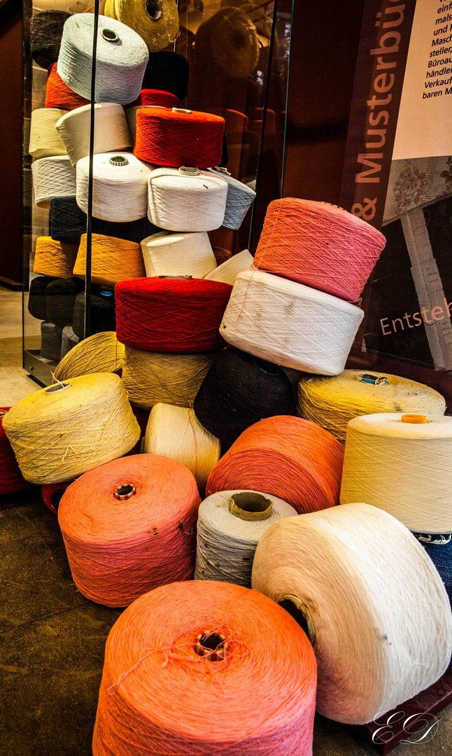 Textilwerk Bocholt 10 Garnrollen