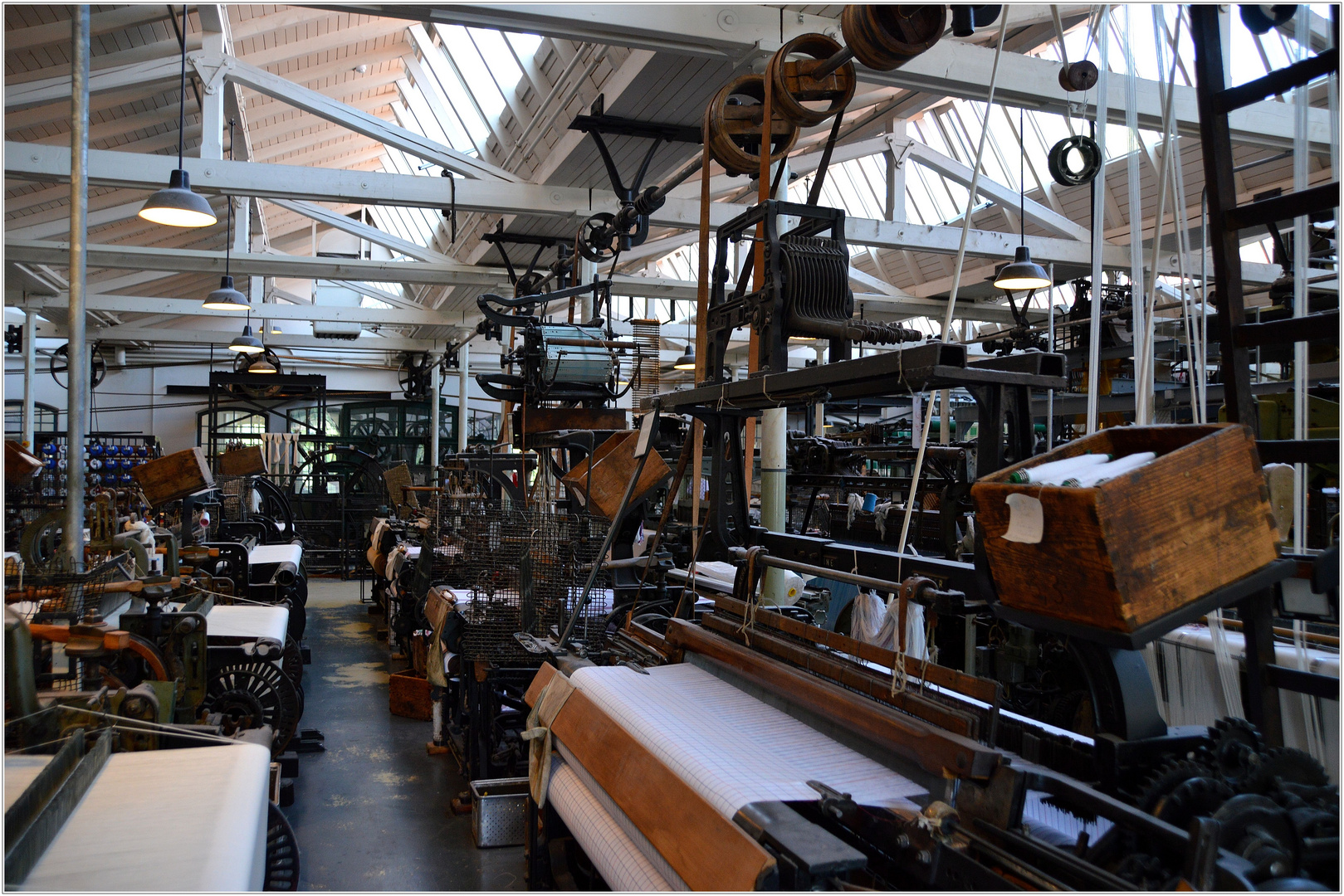 Textilwerke Bocholt - Weberei - (1)