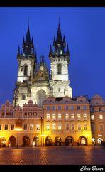Teynkirche (Týnský chrám)