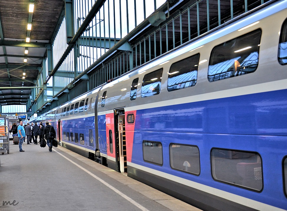TGV 9578 in  Warteposition