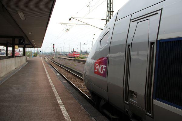 TGV auf Deutschlands Schienen