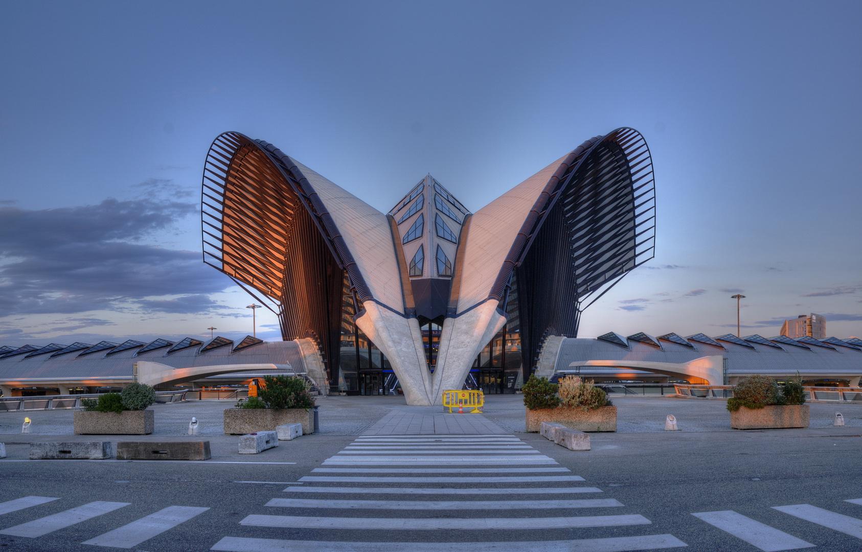 TGV-Bahnhof, Lyon: das Tor