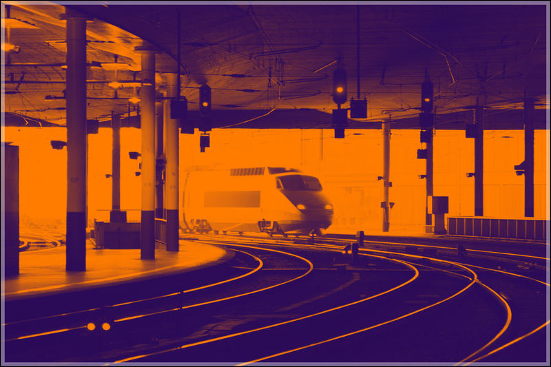 TGV in Bern...