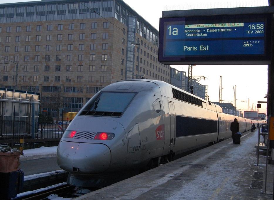 TGV POS 4407 als ICE-Ersatzverkehr