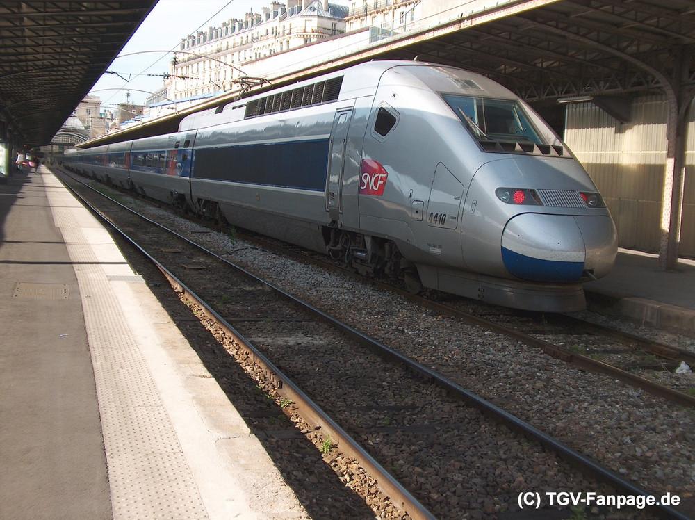 TGV POS 4410 in Paris Est