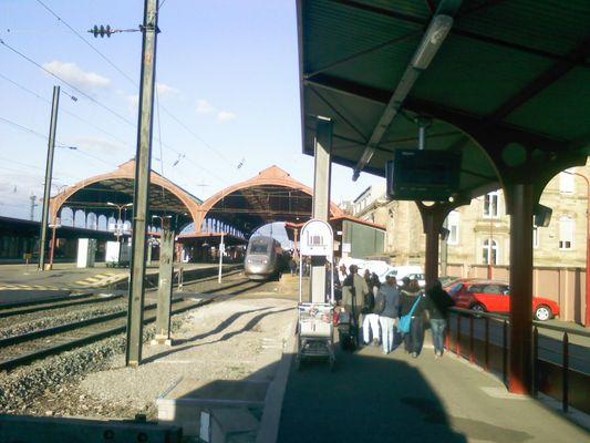 TGV strasbourg