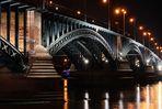 TH-Brücke in Sicht Rheinabwärts