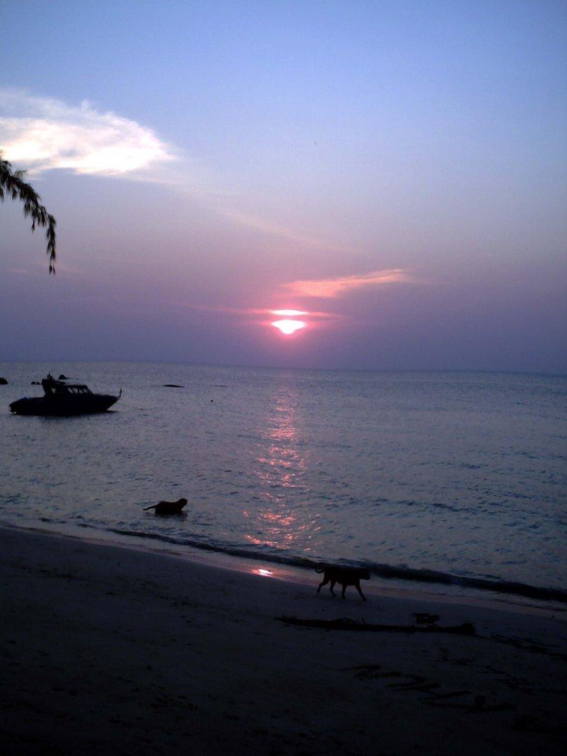 Thaï sunset