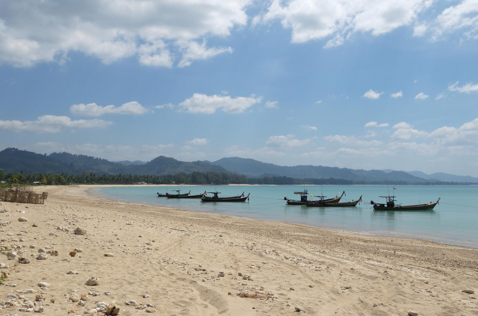 Thabtawan Beach, Amphoe Takua Pa, Phang Nga, Thailand, Januar 2013