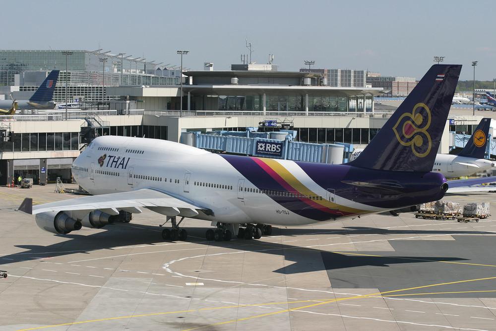 Thai B747