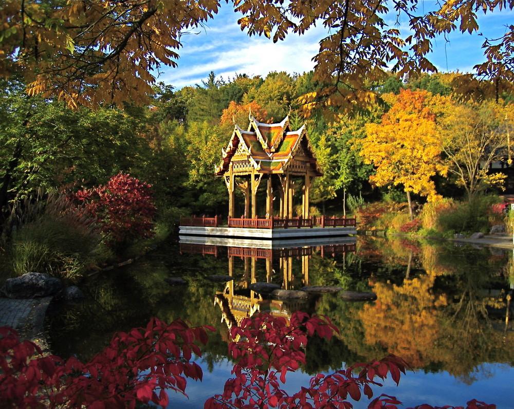 Thai Temple in Munich Westpark Thaitempel im Westpark