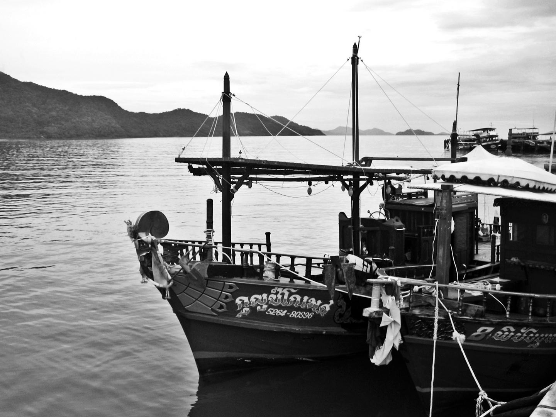 Thailändische Boote