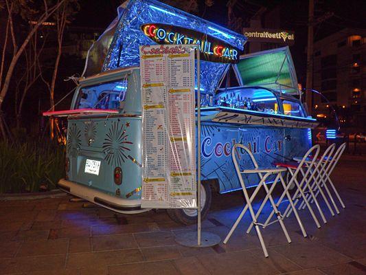 Thailändische mobile Cocktailbar