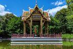 Thailändische Sala mit Buddha-Statue, Westpark München