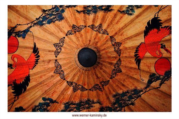 Thailändischer Sonnenschirm