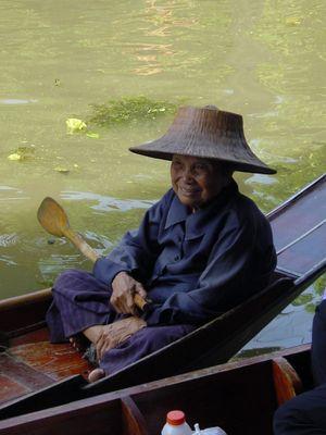 Thailand - Alte Frau