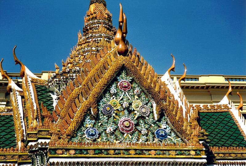 Thailand - Bangkok / Wat Po Detail
