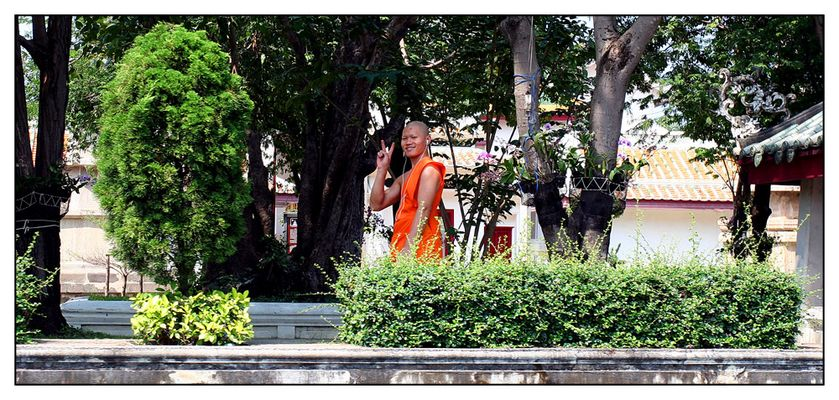 Thailand-Impressionen (6) - I-Mönch -