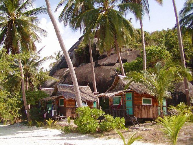 Thailand: Ko Pha Ngan, Leela Beach Bungalow