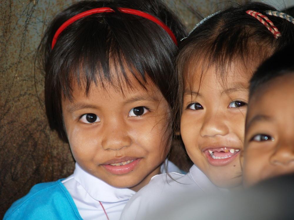 Thailand Schulkinder
