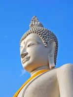 Thailand Wat Yai Chai Mongkon in Ayutthaya