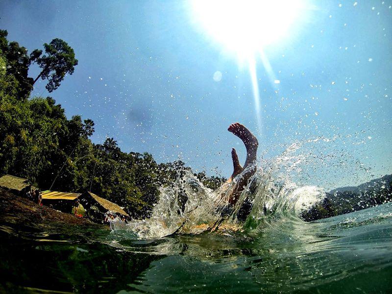 Thailand Water Dive