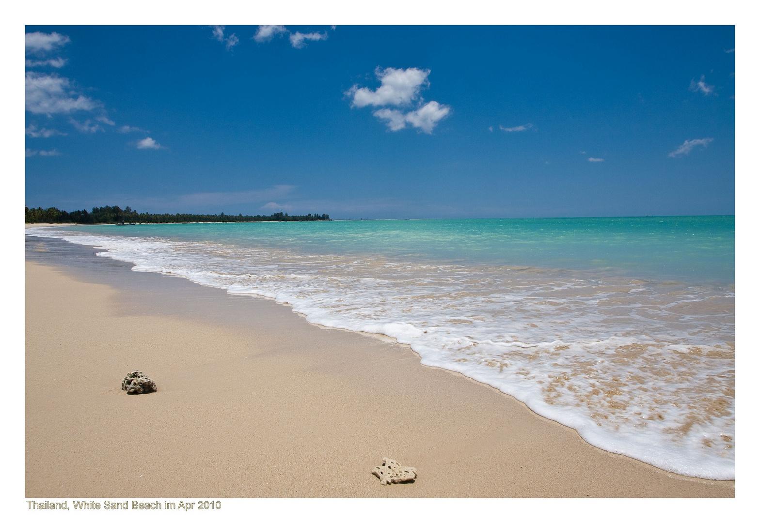 Thailand - White Sand Beach