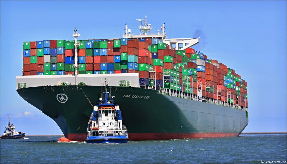THALASSA HELLAS / Container Ship / Rotterdam