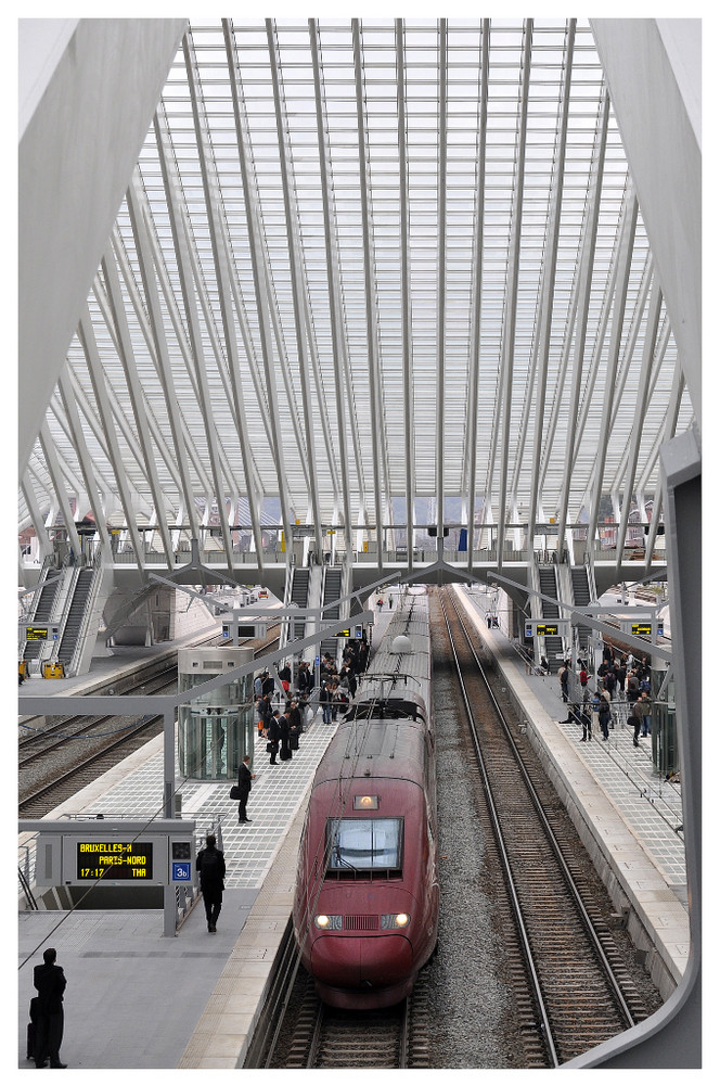 Thalys a Liège