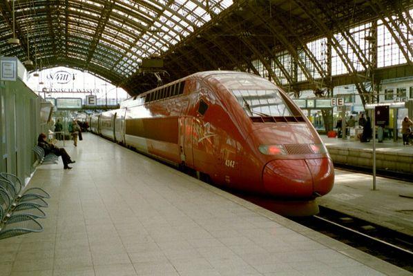 Thalys im Kölner HBF