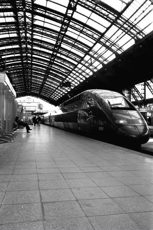 Thalys in HBF Köln