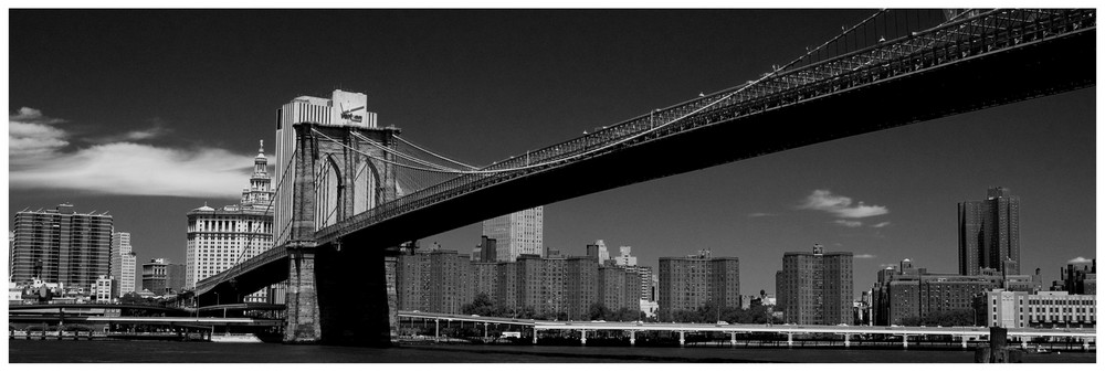 the 10th million view of Brooklyn's Bridge...