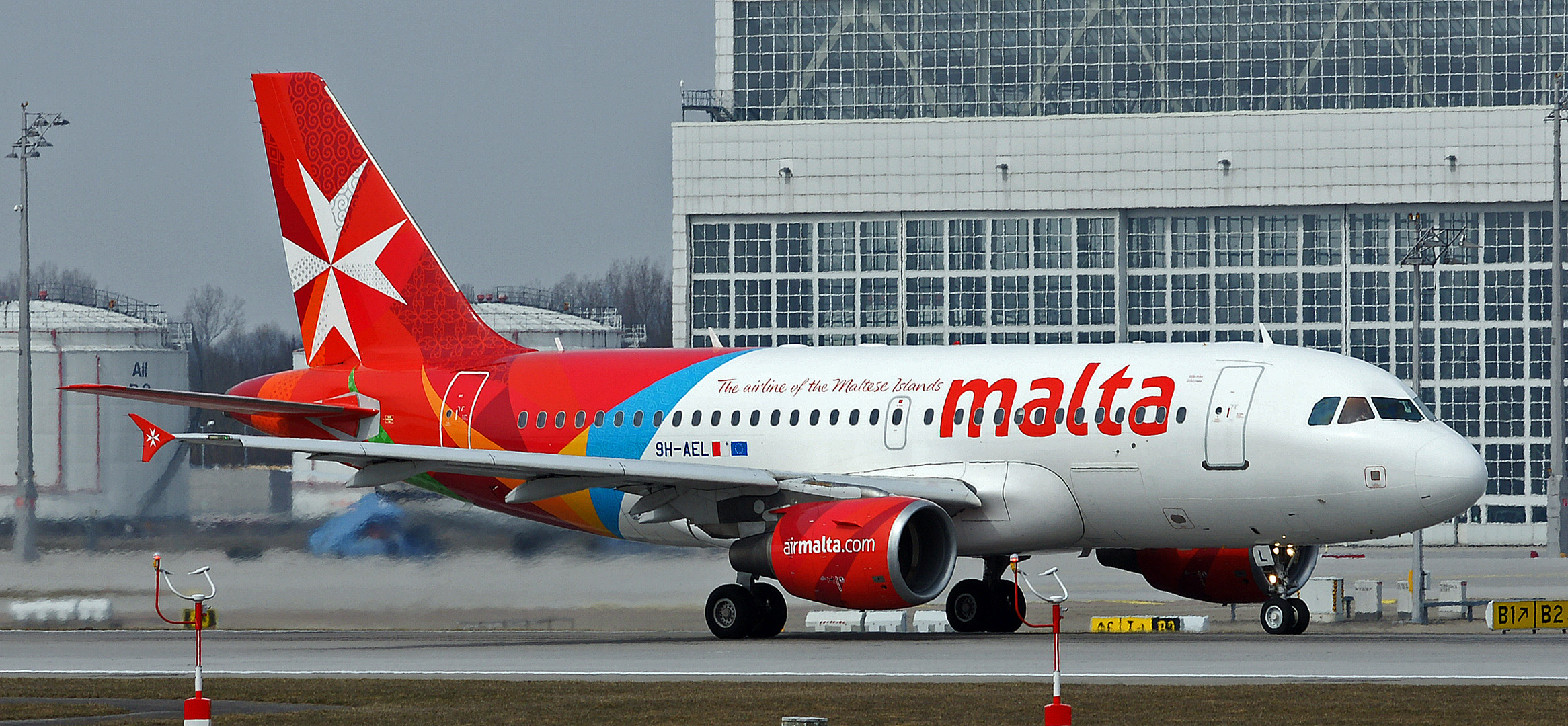 THE AIRLINE OF THE MALTESE ISLAND