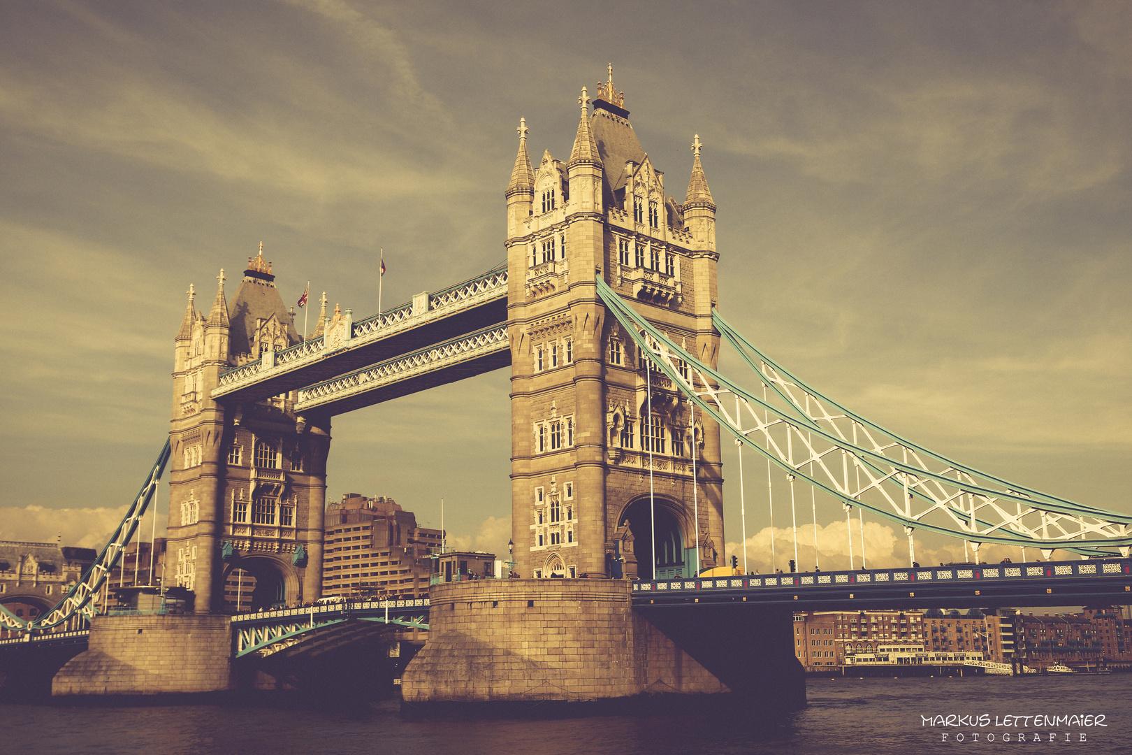 The amazing Tower Bridge