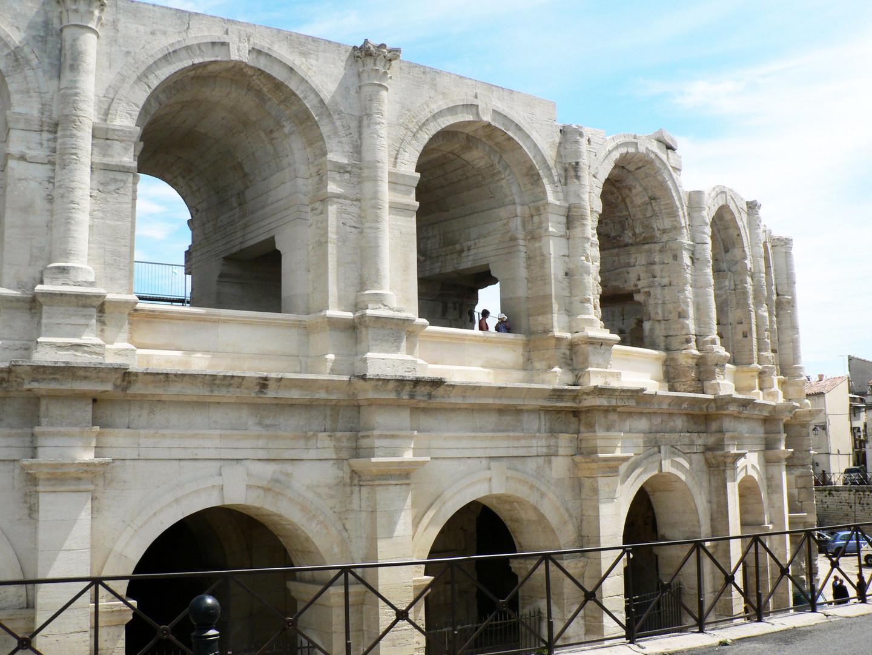 The Antique Amphitheatre in Arles