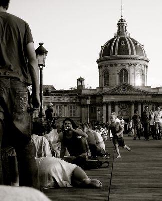The art bridge : a spot for picnics