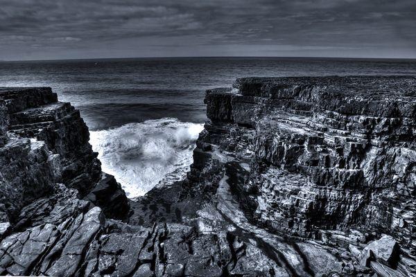 The Atlantic Breaks The Coast
