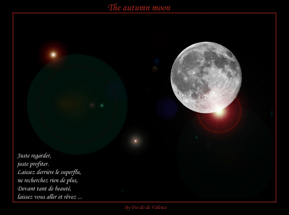 The autumn moon