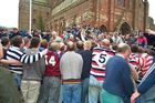 The Ba Game in Kirkwall / Orkney / Scotland 2