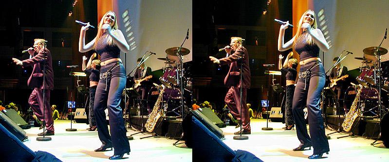 The Band 3D -Kreuzblick
