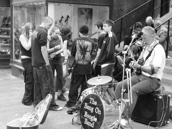 The Bang on boggie band