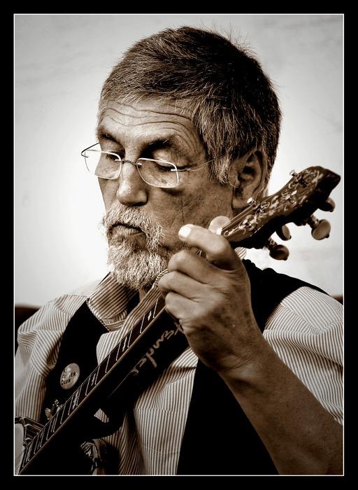 The banjoplayer