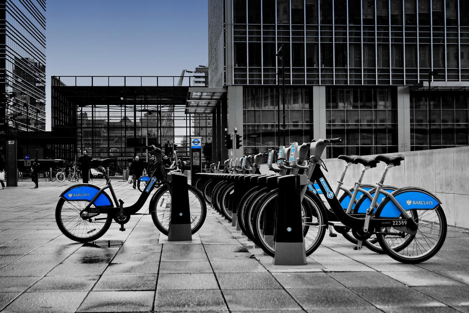 The Barclay Bank Bikes