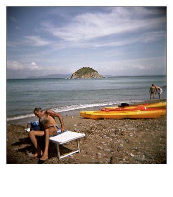 The beach in Cavo