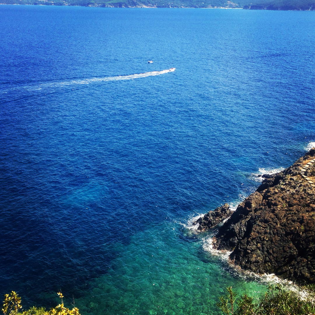 The beautiful island Elba