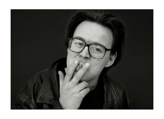 The Belgian Artist Wim Delvoye.