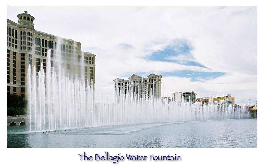 The Bellagio Water Fountain