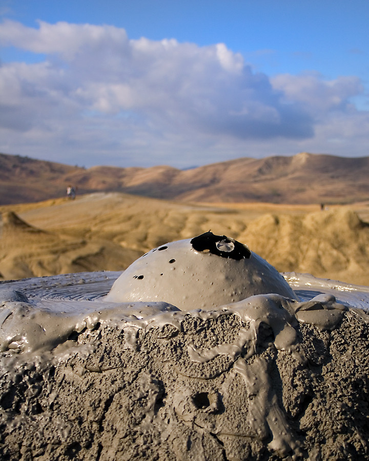 The Berca Mud Volcanoes ,Romania